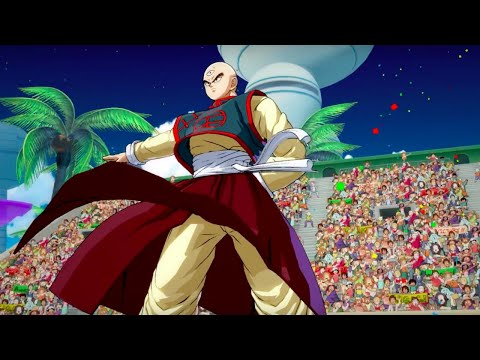 Dragon Ball FighterZ Official Tien Trailer