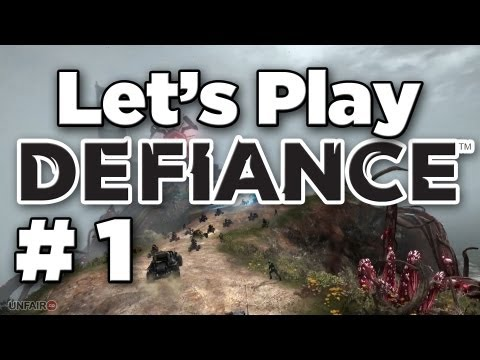 Let's Play Defiance (MMO) - Part #1 - Getting Started