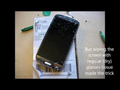 Replacing my Samsung Galaxy S3 Front Glass Screen