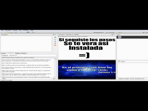 tutorial by Ricky  como instalar las biblias en easyworshi 2009.wmv