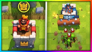 THIS LEVEL 1 ALMOST BEAT ME in Clash Royale!