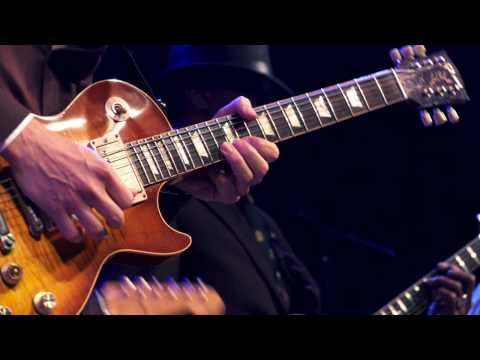Joe Bonamassa, Hubert Sumlin&Jimmy Vivino at Guitar Center's King of the Blues Finals