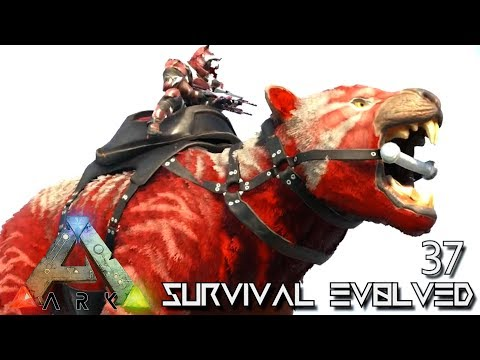 ARK: SURVIVAL EVOLVED - NEW ALPHA THYLACOLEO & ALPHA DIREBEAR !!! E37 (MODDED EXTINCTION CORE)