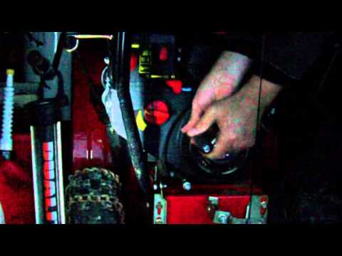 Snow Blower Recoil Starter Rope Repair