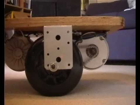 Easy build Self Balancing Seg-robot-skateboard unit.wmv