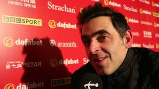 O'Sullivan Earns Netflix & Chill With First Round Masters Victory
