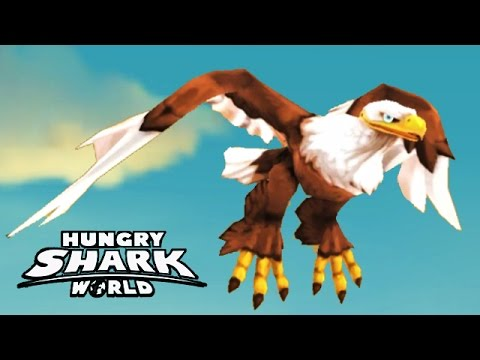 Hungry Shark World - New Baby Pet - Archie The Eagle