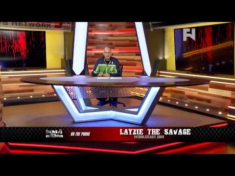 MMA Meltdown with Gabriel Morency  Layzie The Savage Talks Diaz Brothers  Part 1