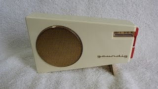 1961 Grundig Solo Boy 201 transistor radio (made in Germany)