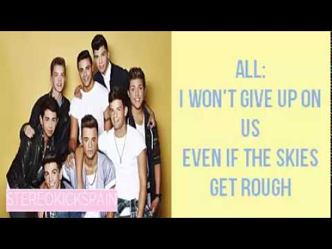 Stereo Kicks - I Won't Give Up Week 8 Sing Off Lyrics video