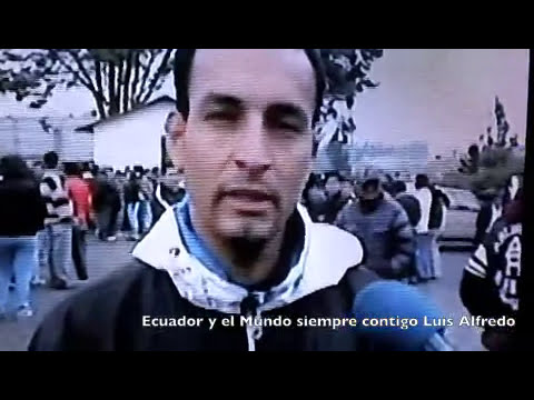 Muerte de Luis Afredo Cabrera Flores Ideal StarBand Ecuador 2011