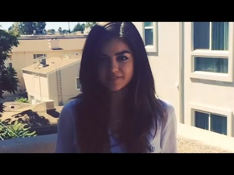 Lucy Hale – Ice Bucket Challenge - (August 17, 2014)