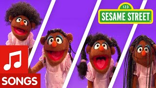 Sesame Street:  Song -- I Love My Hair