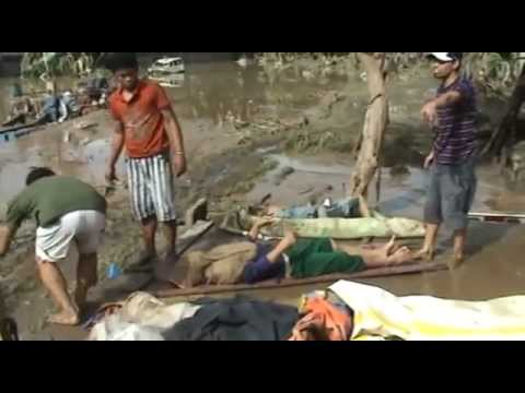 Typhoon Sendong Struck Iligan City on 17th December 2011-Hinaplanon Area.mp4