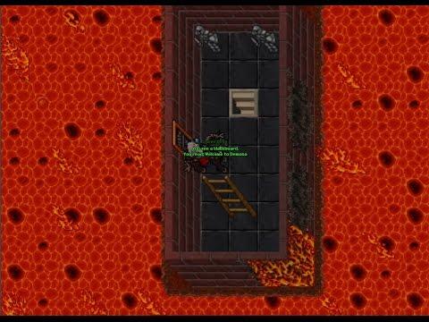 [Tibia 300+Rp] 323 Rp Hunting Demona Warlocks with 10/10 loot prey