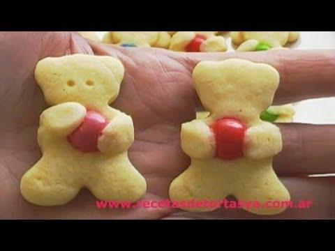 Galletitas Ositos - Recetas de Tortas YA!