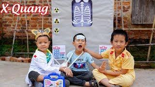 Trò Chơi Bác Sĩ Chụp X-Quang Thần Kì - Bé Nhím TV - Đồ Chơi Trẻ Em Thiếu Nhi