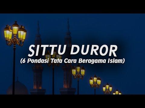 6 Pondasi Tata Cara Beragama Islam - Ustadz Ahmad Zainuddin Al-Banjary