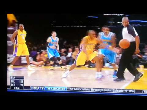 Lakers Jodie Meeks steal, slam against New Orleans
