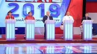 #Debate2019: Alejano, Alunan, Colmenares, Marcos, Pimentel   Round 1