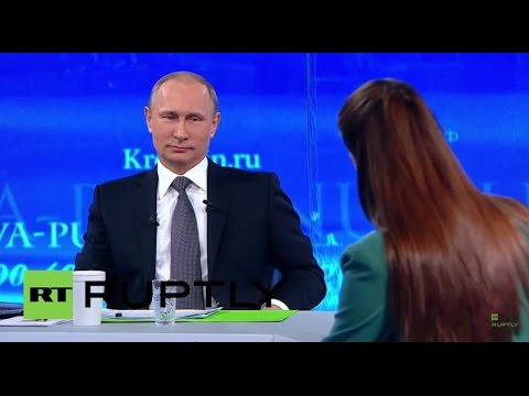 LIVE: 'Direct Line' with president Vladimir Putin