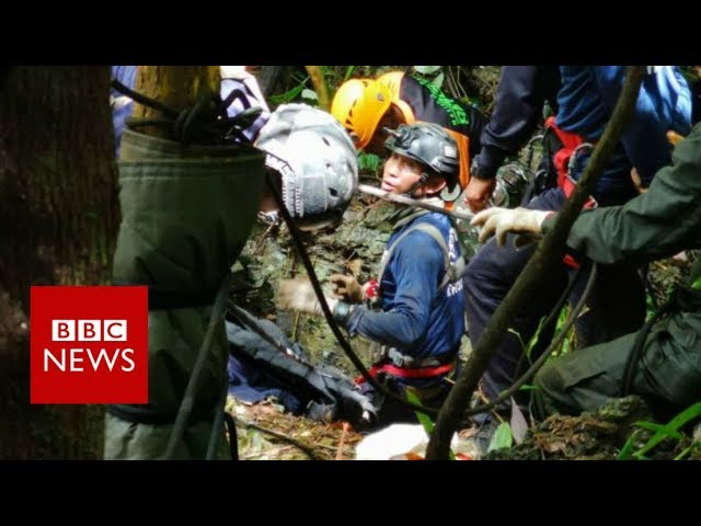 Thailand cave rescue: Boys found alive after nine days - BBC News