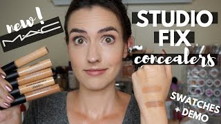 NEW MAC Studio Fix 24 Hour Concealer | Demo + Swatches of ALL 33 Shades!