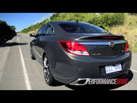 2013 Opel Insignia OPC engine sound and 0-100km/h