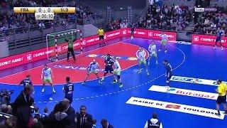 Match amical - France 29-27 Slovénie [2017-01-06]