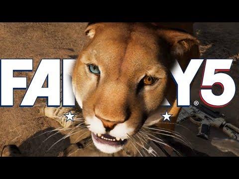 Far Cry 5 - ПУМА ПЕРСИК - КАК И ГДЕ ПРИРУЧИТЬ? #6