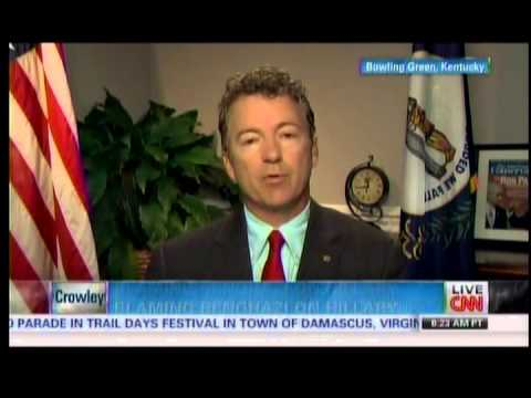 Sen. Rand Paul on CNN's State of the Union with Candy Crowley - 5/19/13