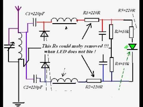 am Detector Circuit With a