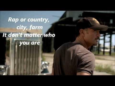 Tim Mcgraw Truck Yeah With Lyrics video