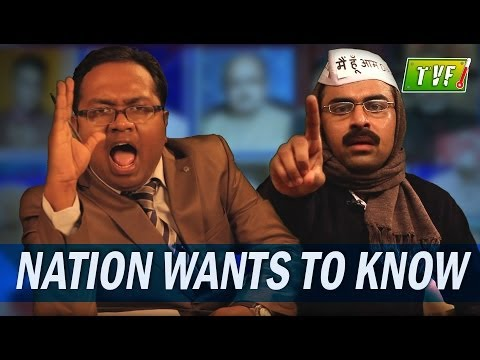 Bollywood Aam Aadmi Party : Arnab's Qtiyapa video