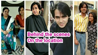Behind the scenes On the location Yeh Un Dino Ki Baat Hai Serial star cast...