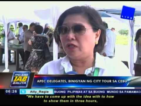 APEC delegates, binigyan ng city tour sa Cebu