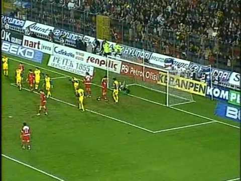 Турция - Украина 0:3. Отбор ЧМ-2006 (фрагменты матча).