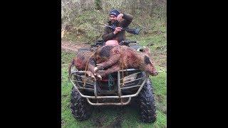 New Zealand 2017 Episode 5 - Kiwi Pig Hunting