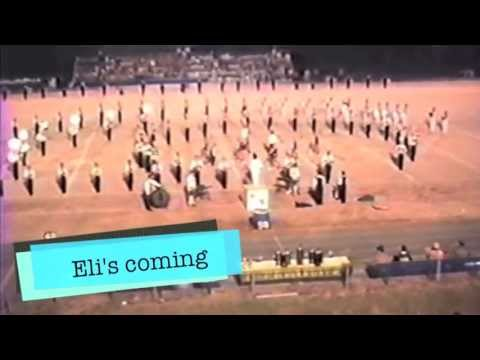 Lincolnton High School Wolfpack Band_Eli's Coming_1987-88