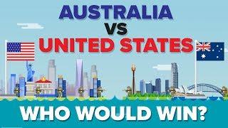 Australia vs United States (USA) 2017 - Who Would Win? Military Comparison