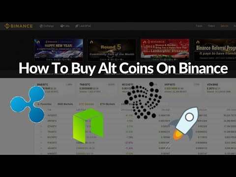 How to Buy Alt Coins Using Binance- Binance Tutorial