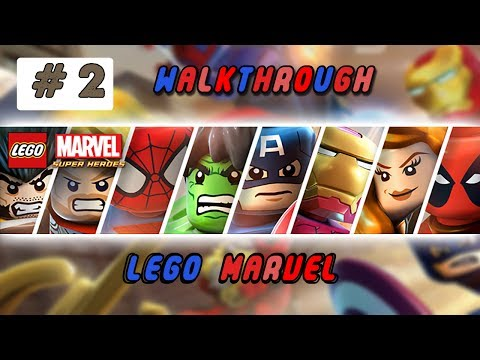 lego marvel super heroes - Walkthrough #2 - Black-