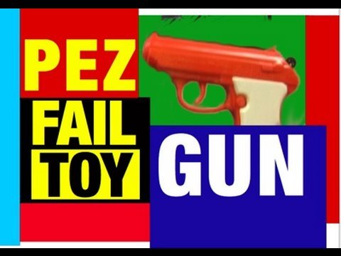 Fail Toy PEZ GUN Hilarious Epic Failure Review Mike Mozart @JeepersMedia