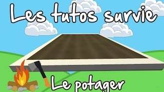 Unturned FR tuto survie : Le potager - Greenhouse foundation