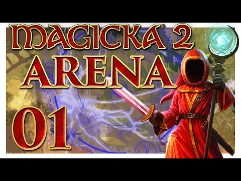 Magicka 2 Challenge Arena (Part 1) [Magicka 2 Multiplayer]