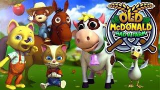 Old MacDonald Had a Farm | Popular Nursery Rhymes & Children Songs by appMink ft  Farm Animals