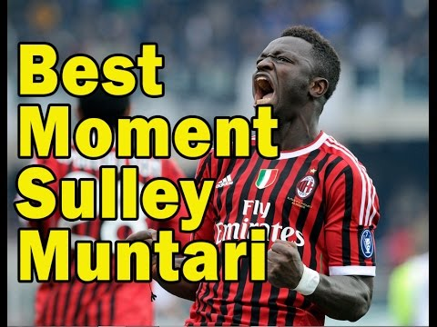 Best Football Moment of Sulley Muntari