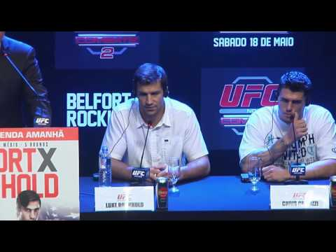 UFC on FX 8: Belfort vs Rockhold Pre-fight Press Conference