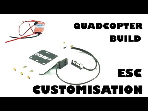 Quadcopter build - ESC customisation - eluminerRC