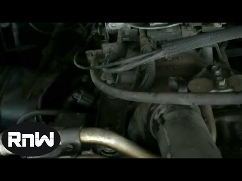Dodge Ram 1500 5 9L Thermostat Removal Part 1